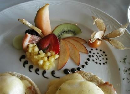 High Pointe Inn breakfast