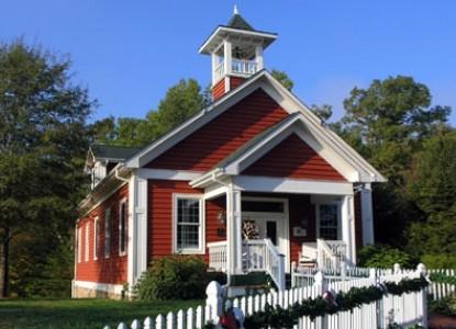 Whitestone Country Inn school house