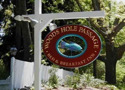 Woods Hole Passage Bed & Breakfast Inn-Sign
