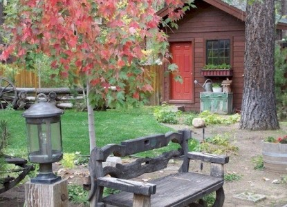 Black Bear Inn, patio