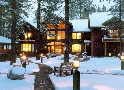 Black Bear Inn, winter snow