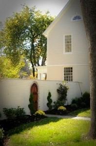 A Storybook Inn backyard