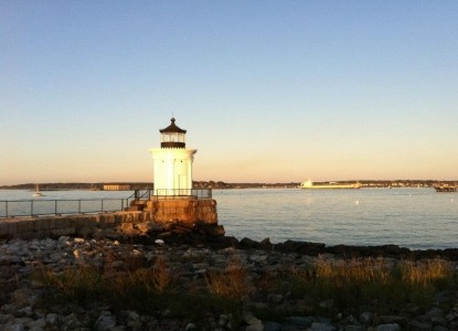 Pomegranate Inn, Portland, Maine, lighthouse