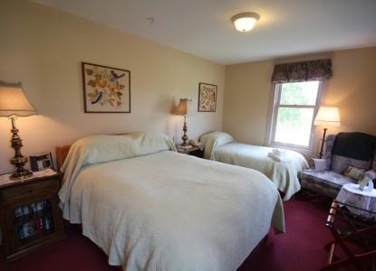 Maple Hill Farm Inn, Hallowell, Maine, bedroom