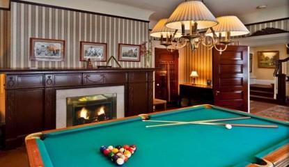 Inn at Lake Joseph, Forestburgh, New York, billiards