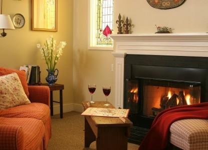 Woolverton Inn fireplace