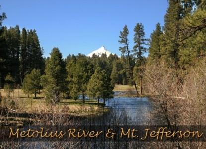 Juniper Acres Bed & Breakfast, Metolius River & Mt. Jefferson