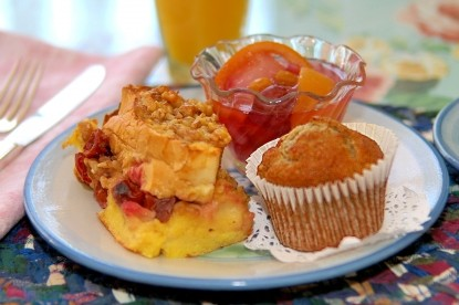 White Lace Inn Bed & Breakfast muffin