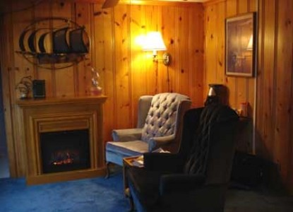 Brey House Oceanview Bed and Breakfast Inn - Lincoln City, Oregon, Captains Suite