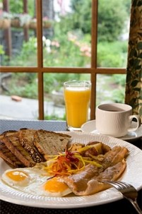 The Settlers Inn breakfast
