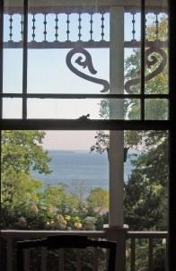 Victorian by the Sea, balcony
