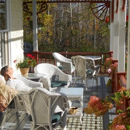 Victorian by the Sea, Relax on the Porch
