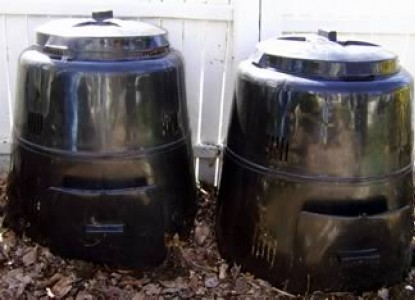 College House Bed & Breakfast-Composting recepticles