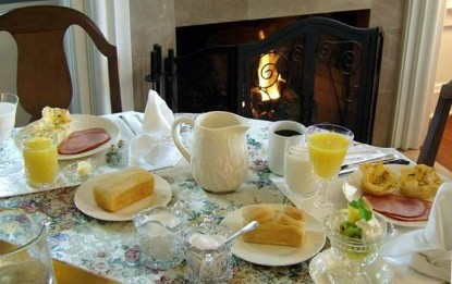 College House Bed and Breakfast mornings