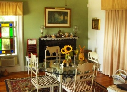 Stirling House Bed & Breakfast dining