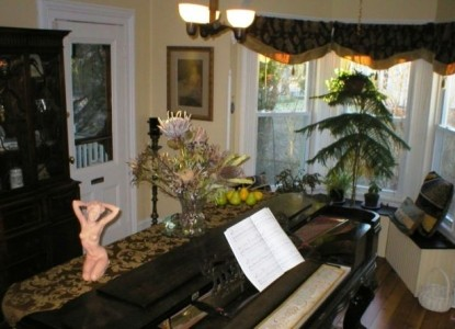 Stirling House Bed & Breakfast piano