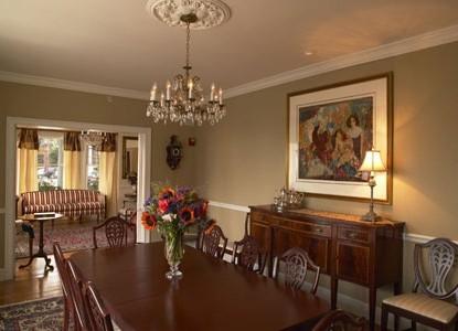 The Almondy Inn Bed & Breakfast, Dining Room