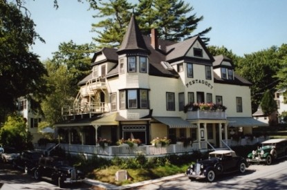 Pentagoet Inn B&B front of inn