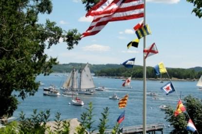 Pentagoet Inn B&B sail boats
