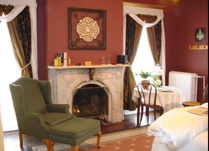 Bernadine's Stillman Inn, fireplaces, whirlpools, and private baths