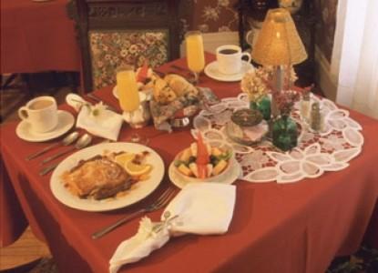 The Rookwood Inn food