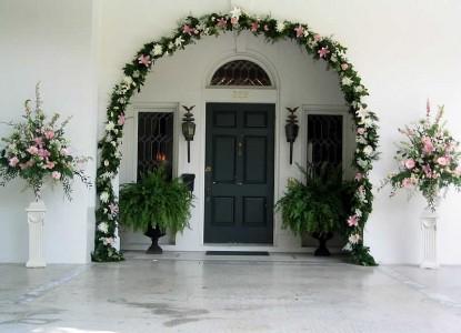 Belle Oaks Inn Bed and Breakfast Gonzales, Texas - wedding arch