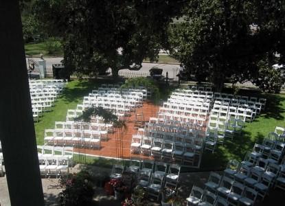 Belle Oaks Inn Bed and Breakfast Gonzales, Texas - wedding chairs
