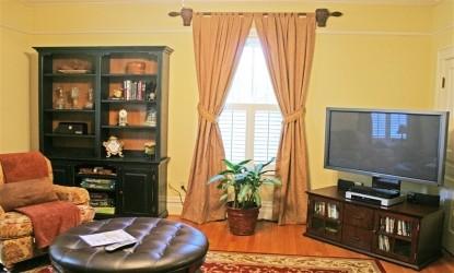 Oak Hill on Love Lane - living room