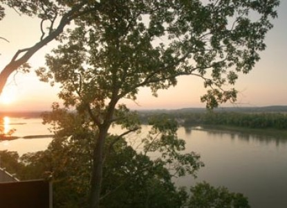 Hermann Hill Vineyard Inn  Spa, Riverbluff Cottages and Wedding Chapel-View