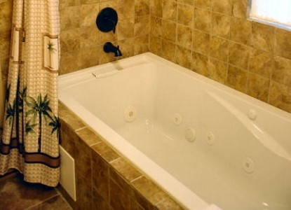 The Inn at Norwood Bed & Breakfast The Cottage tub