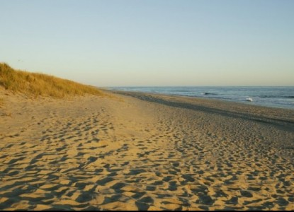 The Veranda House, sand