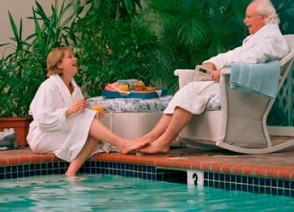 Five Gables Inn & Spa In-door (seasonally heated) swimming pool