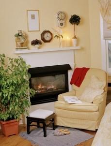 Five Gables Inn & Spa Fireplace
