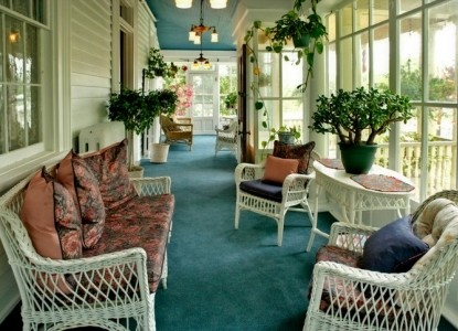 Wilbraham Mansion Bed & Breakfast Inn and Suites, Cape May, New Jersey, porch
