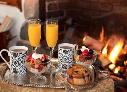 Old Monterey Inn Breakfast
