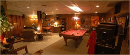 Annville Inn Bed & Breakfast, Spacious Gameroom With Pool Table