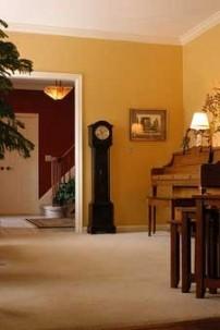 Annville Inn Bed & Breakfast, piano room