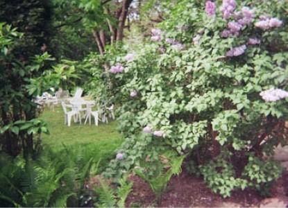 1870 Wedgwood Inn of New Hope,  garden