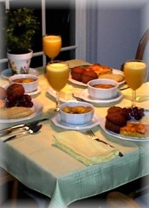 Breezee Hill Farm Bed and Breakfast-Breakfast