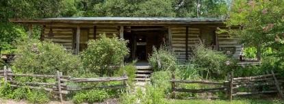 The Hunter Road Stagecoach Stop Bed & Breakfast Blue Bonnett Log Cabin