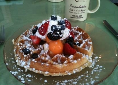 Serendipity Bed & Breakfast-Waffles