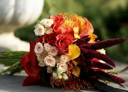 The Black Horse Inn Bed & Breakfast wedding bouquet