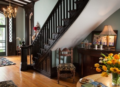 1853 Inn at Woodhaven, staircase