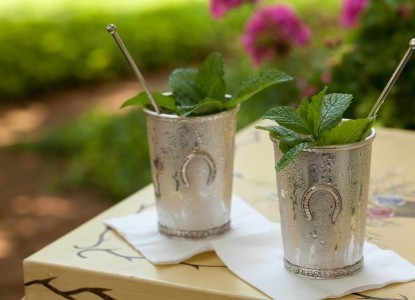 1853 Inn at Woodhaven silver cups