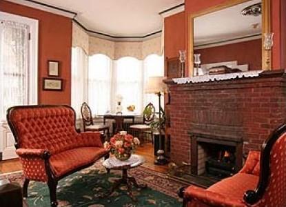 The Queen Victoria Bed & Breakfast Inn fireplace