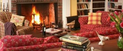 Birchwood Inn, fireplace