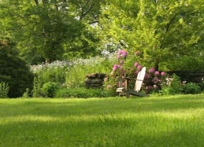 Birchwood Inn, yard