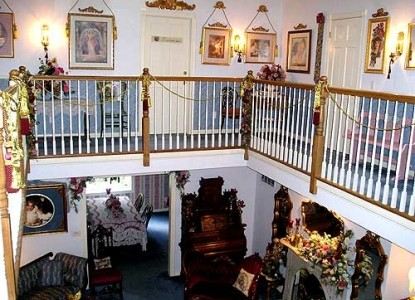 Emory Creek Victorian Bed & Breakfast staircase