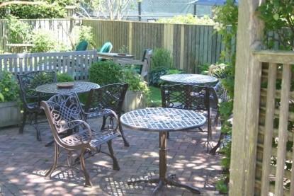 Brass Lantern Inn patio furniture