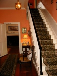 Hickory Ridge House Bed & Breakfast staircase